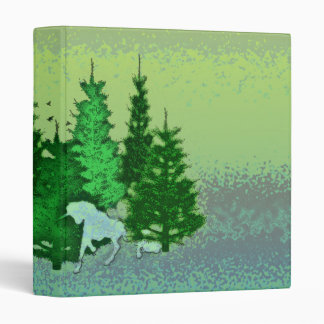 ENCHANTED FOREST 3 RING BINDER
