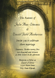Mystical Wedding Invitations   Zazzle