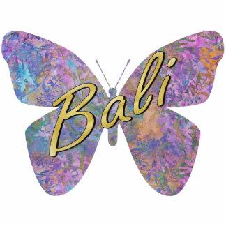 Enchanted Forest Batik Butterfly Ornament
