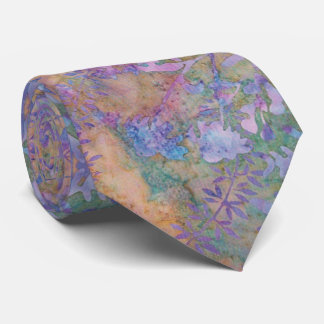Enchanted Forest Batik Tie
