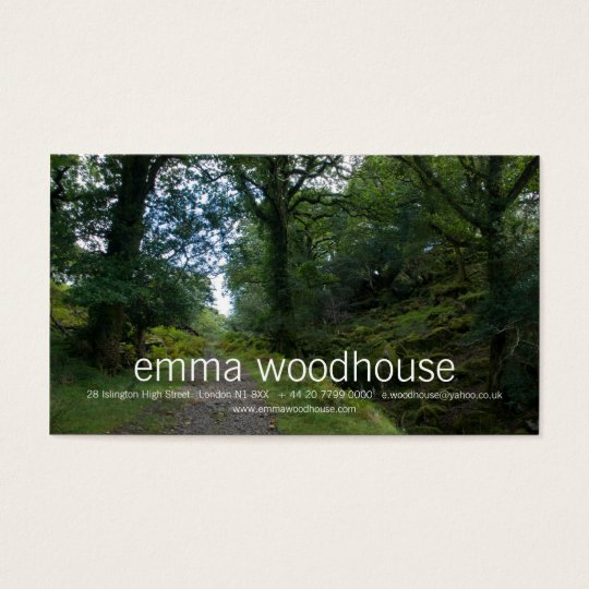 Enchanted Forest Business Card