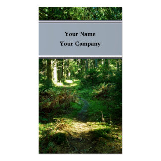 enchanted forest businesscard business card