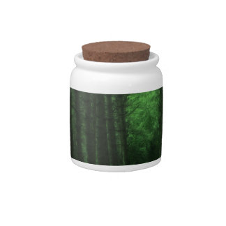 Enchanted Forest Candy Jar