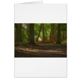 Enchanted Forest Card