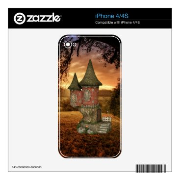 Enchanted forest decal for iPhone 4