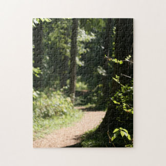 Enchanted Forest Dreamy Photo Puzzle