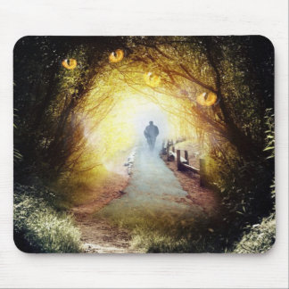 Enchanted Forest Fantasy Art Mouse Pad