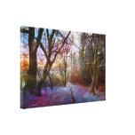 Enchanted Forest -Nature Landscape Stretched Canvas Print