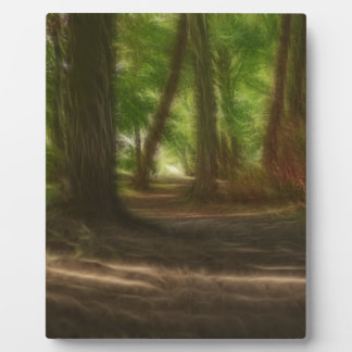 Enchanted Forest Plaque