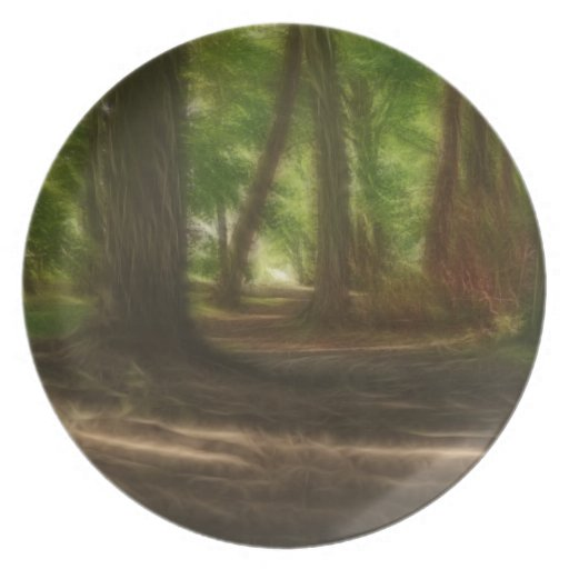 Enchanted Forest Dinner Plate