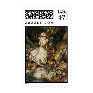 Enchanted Forest Postage