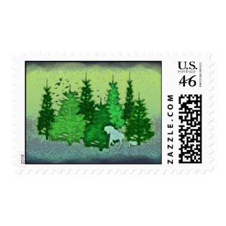 ENCHANTED FOREST STAMP