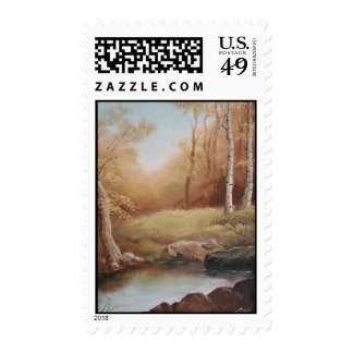 Enchanted Forest Postage Stamps
