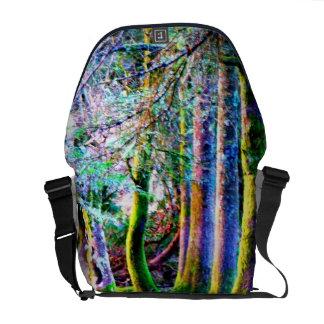 Enchanted Forest Rickshaw Messenger Bag