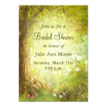 Enchanted Forest Scene 5x7 Paper Invitation Card