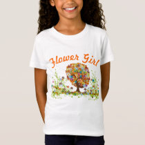 Enchanted Forest Side Branch Wedding T-Shirt