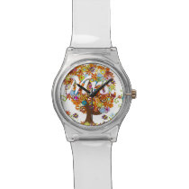 Enchanted Forest Side Branch Wedding Wrist Watch