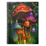 Enchanted Forest Spiral Note Books