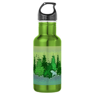 ENCHANTED FOREST STAINLESS STEEL WATER BOTTLE