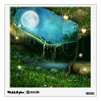 enchanted forest wall decals amp wall stickers zazzle bambizi designer nursery wall stickers