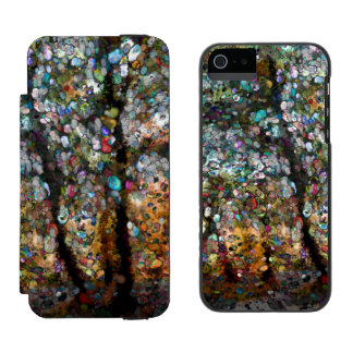 Enchanted Forest Wallet Case For iPhone SE/5/5s