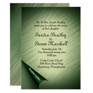 Enchanted Forest Wedding Invitation