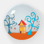 Enchanted Forest With Cottage Paperweight