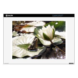 """Enchanted Frog 15"""" Laptop Skins"""