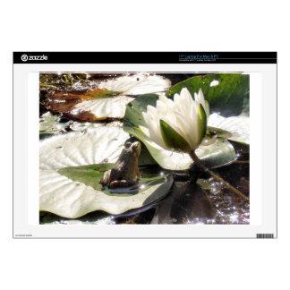 Enchanted Frog Laptop Skins