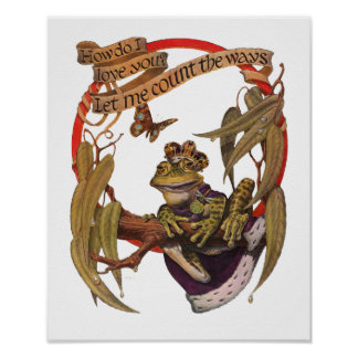 Enchanted Frog Poster