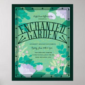 Enchanted Garden Event Poster