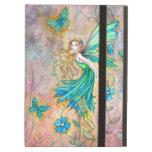 Enchanted Garden Flower Fairy Illustration iPad Air Cover