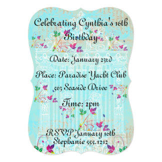 Enchanted Garden Gate Invitation