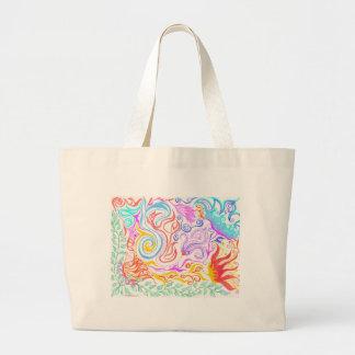 Enchanted Garden Large Tote Bag
