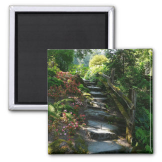 Enchanted Garden Path Refrigerator Magnets