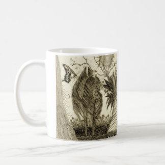 """Enchanted Garden"" Pegasus Butterfly Mug"