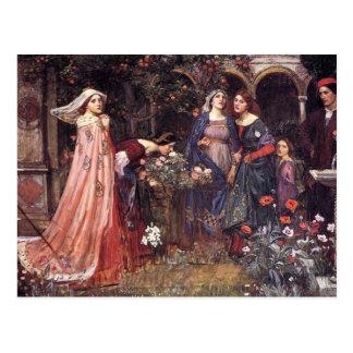 Enchanted Garden Postcard