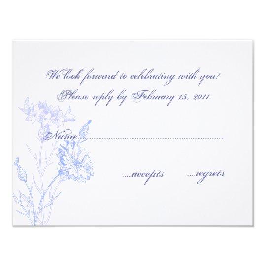 Enchanted Garden RSVP Card