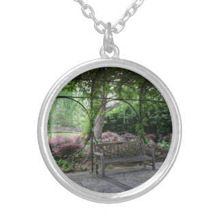 Enchanted Garden Silver Plated Necklace