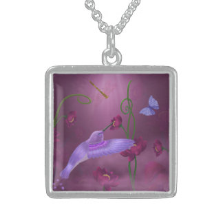 Enchanted Garden - Sterling silver necklace
