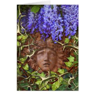 Enchanted Garden Summer note card