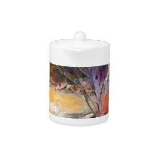 Enchanted Garden Teapot