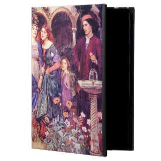 Enchanted Garden William Waterhouse Fine Art iPad Air Cover