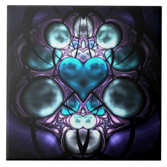 Enchanted Heart Tile