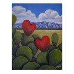 Enchanted Hearts Postcard