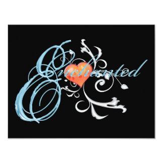 Enchanted 4.25x5.5 Paper Invitation Card