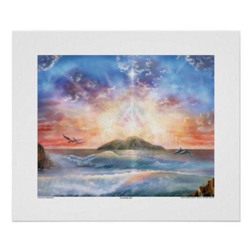 Enchanted Isle Poster