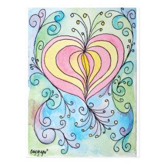 Enchanted love post card
