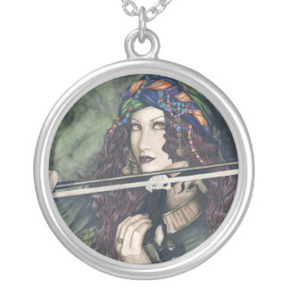 Enchanted Melodies Violin Necklace