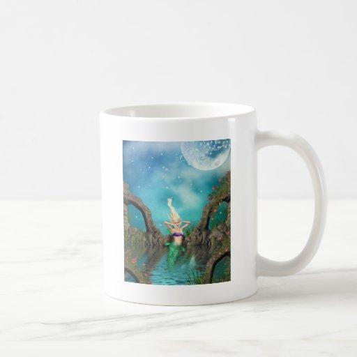Enchanted Mermaid Classic White Coffee Mug